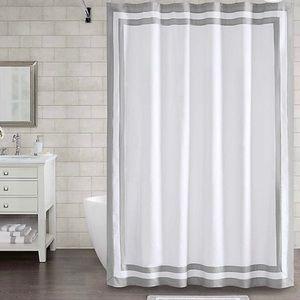NIP Mamsutta Hotel Boarder Shower Curtain